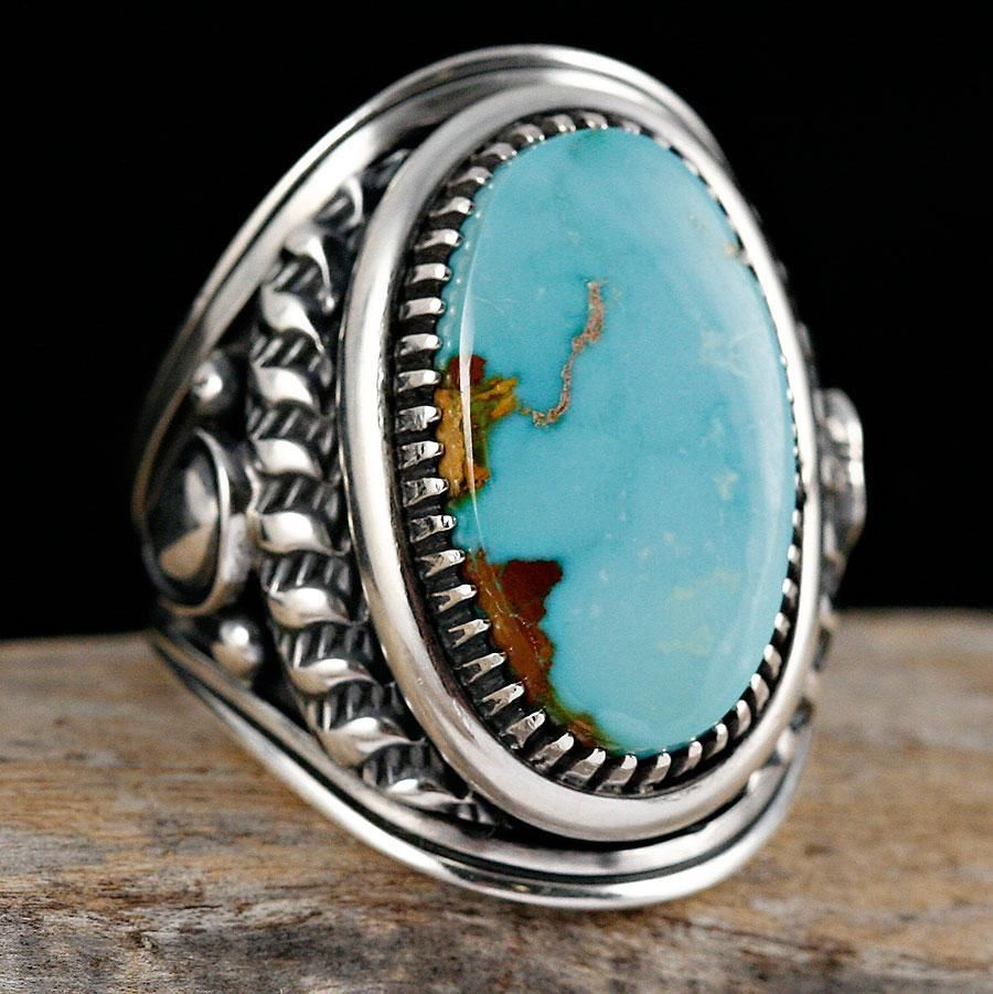 navajo wedding rings navajo turquoise ring amp wedding jewelry sight 6110